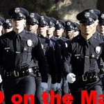 LAPD on the march