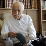 Islamic cleric Fethullah Gulen at his Pennsylvania home in September 2013 (Reuters)